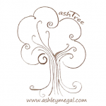 Ashley Megal's under the ashTree Logo